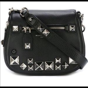 Marc Jacobs studded saddle bag